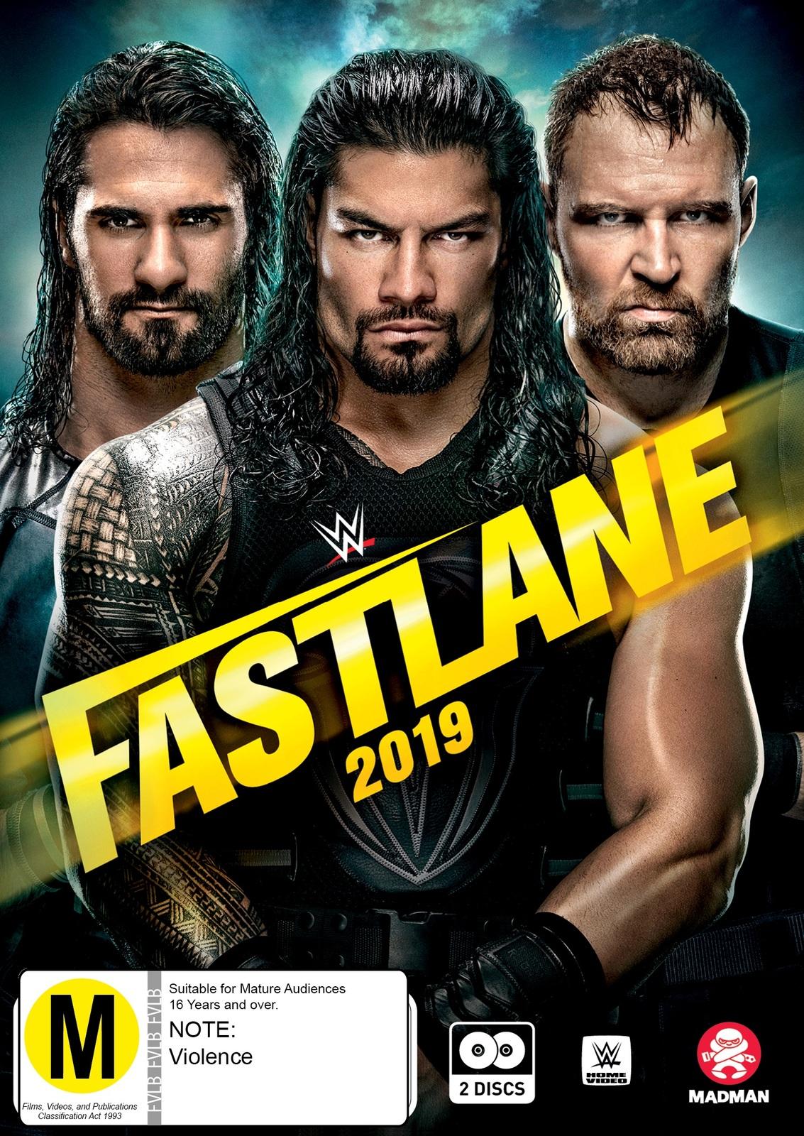 WWE: Fast Lane 2019 on DVD image