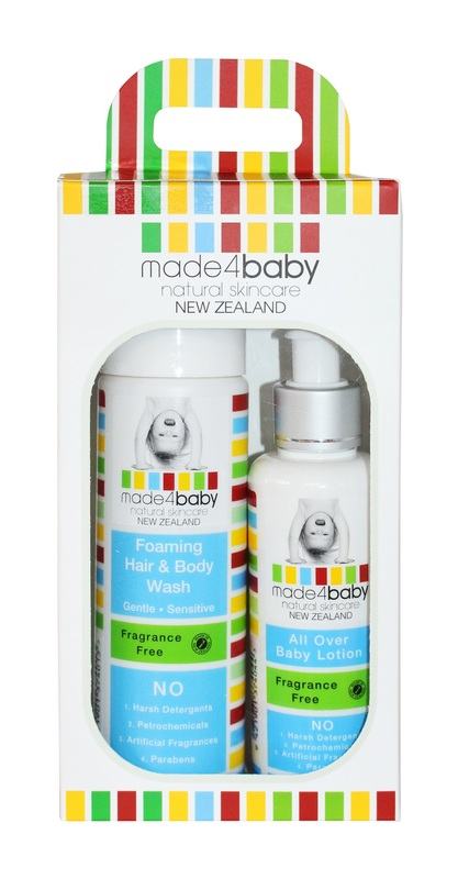 Made4Baby: Baby Essential Pack (Fragrance Free)