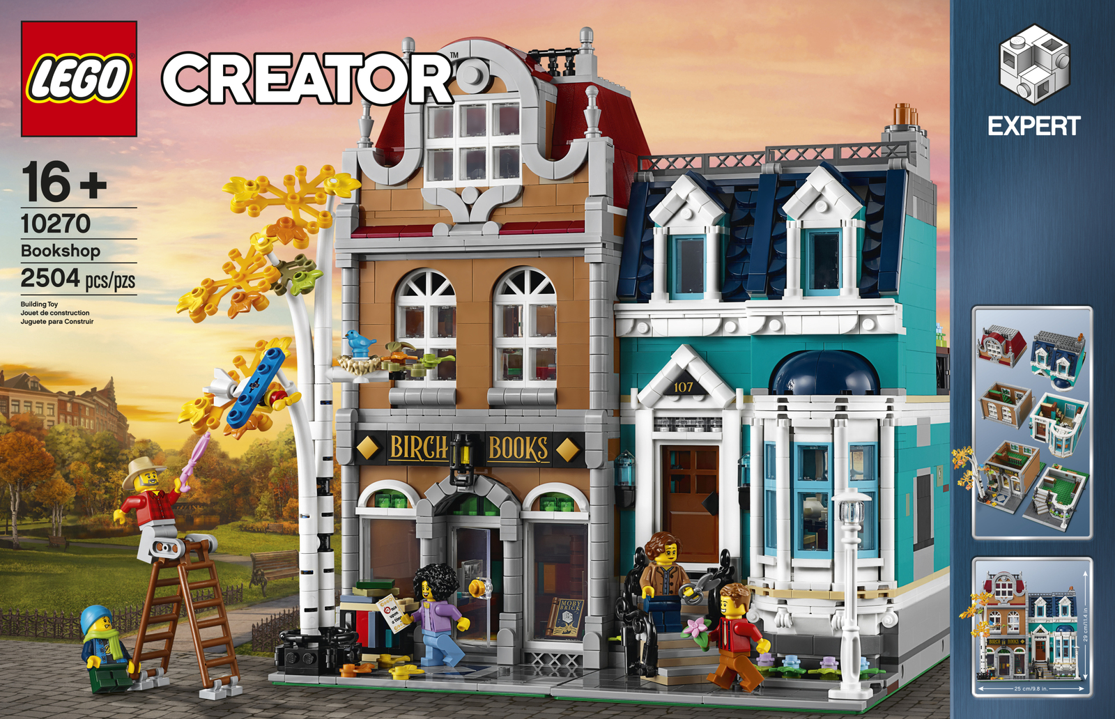 Free Shipping LEGO 10270 Creator Expert Bookstore US Seller Fast Shipping