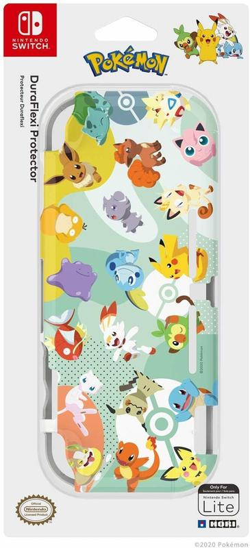 Switch Lite DuraFlexi Protector (Pikachu & Friends) by Hori for Switch