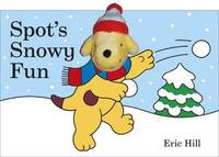 Spot's Snowy Fun Finger Puppet Book by Eric Hill image