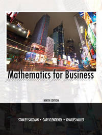 Mathematics for Business by Stanley A. Salzman image