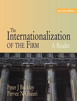 The Internationalization of the Firm by Peter J Buckley image