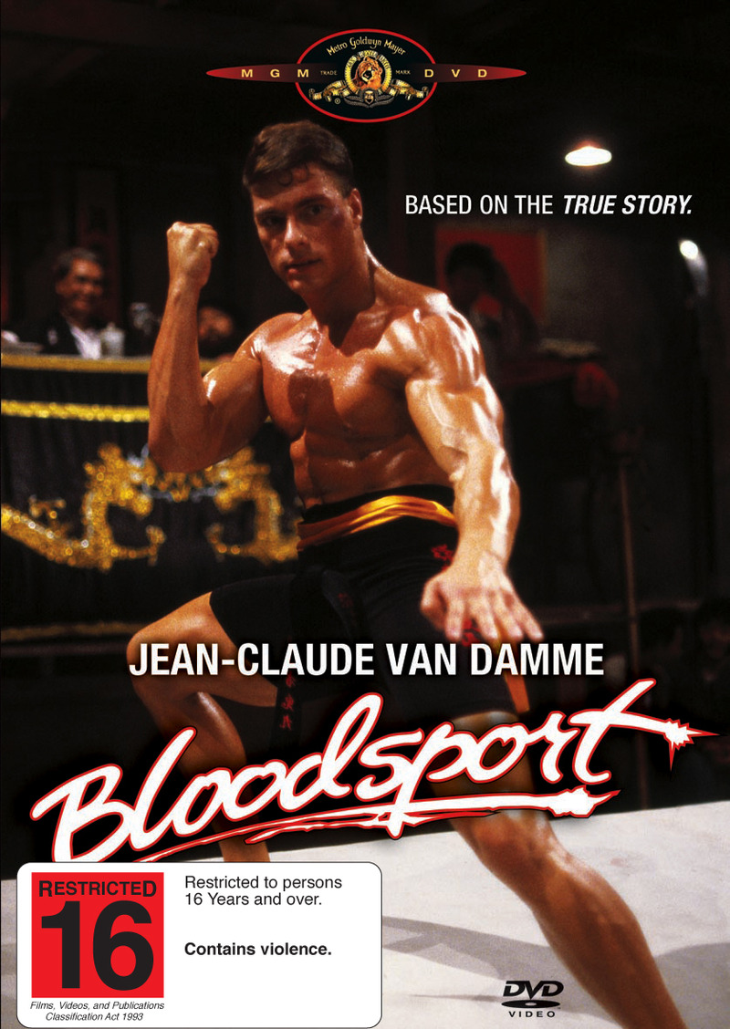 Bloodsport on DVD image