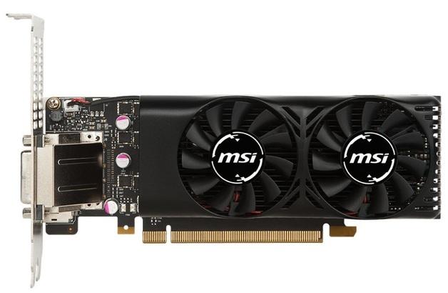 MSI GeForce GTX 1050 TI 4GB Low Profile Graphics Card