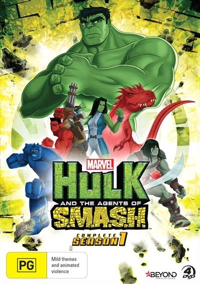 Hulk & The Agents Of S.M.A.S.H. - Complete Season 1 on DVD image