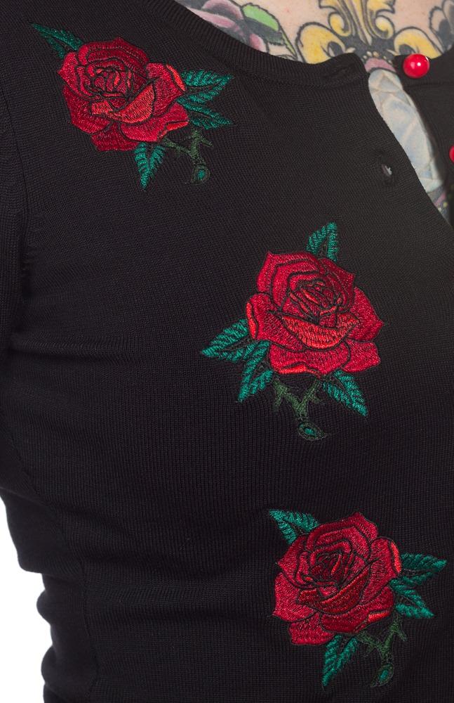 Sourpuss Rose Garden Cardigan (X-Large) image