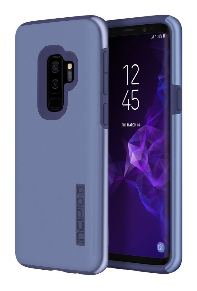 cheap for discount a01b9 3891a Incipio: DualPro Case for Samsung GS9+ - Iridescent Light Blue