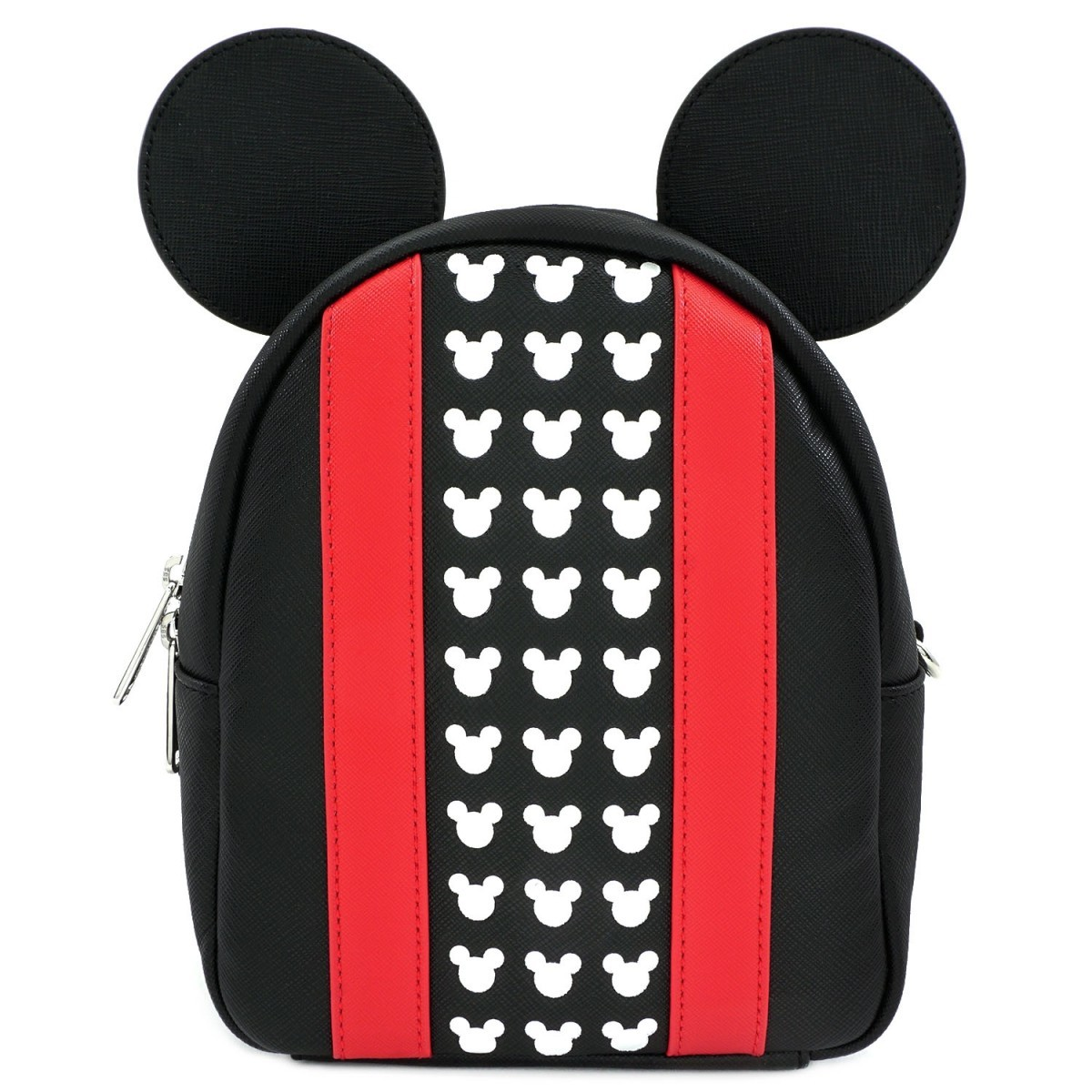 Loungefly: Mickey Mouse - Red Stripe & Ears Backpack image