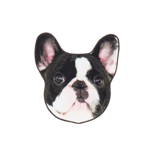 Dog Face Towel - French Bulldog