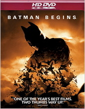 Batman Begins on HD DVD
