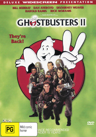 Ghostbusters II on DVD image