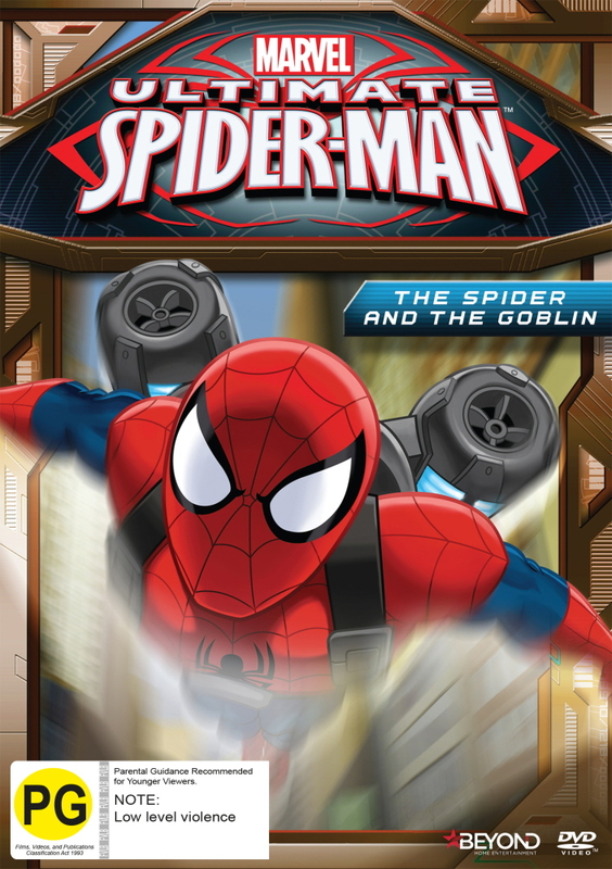 Ultimate Spider-Man: The Spider And The Goblin   DVD   Buy Now   at