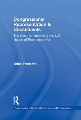 Congressional Representation & Constituents by Brian Frederick
