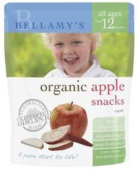 Bellamy's - Organic Apple Snacks (20gm)