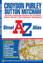 Croydon Street Atlas by Geographers A-Z Map Company