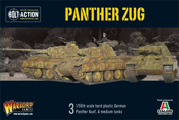 Bolt Action: Panther Zug - Tank Platoon