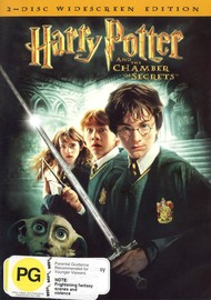 Harry Potter and the Chamber of Secrets on DVD image