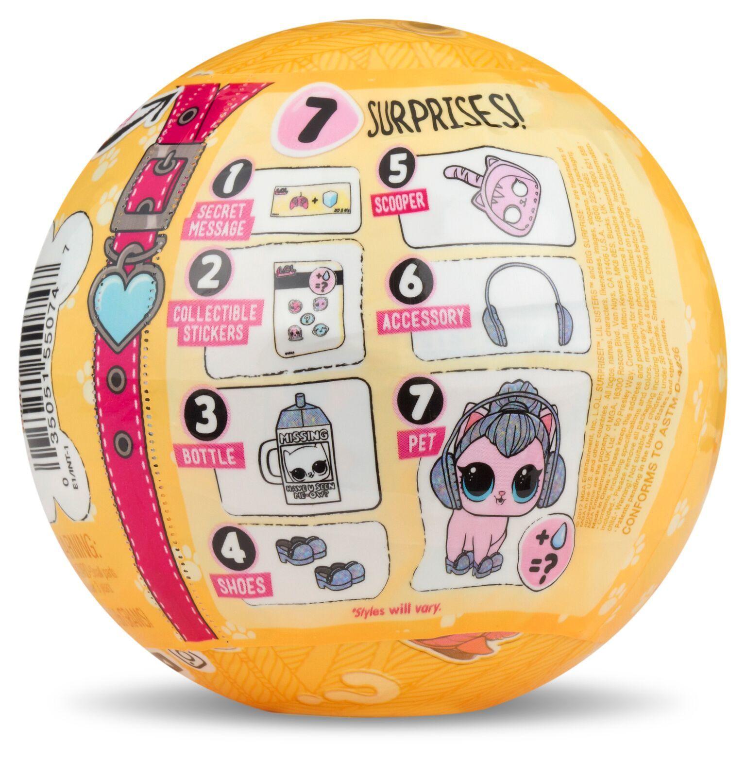 L.O.L: Surprise! Doll - Pet S3 (Blind Bag) image