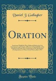 Oration by Daniel J Gallagher image