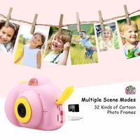 Cute Kids Digital Camera HD 720P - Pink image