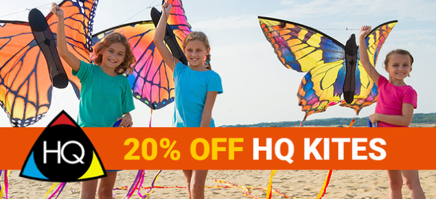 20% off HQ Kites!
