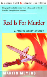 Red is for Murder by Martin Meyers image