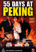 55 Days To Peking on DVD