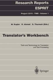 Translator's Workbench