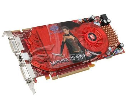 Sapphire Radeon HD3850 256MB GDDR3 PCI-E Dual DVI / TV-Out