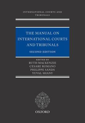 The Manual on International Courts and Tribunals by Ruth Mackenzie image