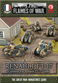 Flames of War - Renault FT-17 - 5 Pack