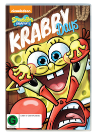 Spongebob Squarepants - Krabby Days on DVD