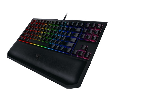 Razer BlackWidow Tournament Edition Chroma Gaming Keyboard V2 - Yellow Switches for PC Games