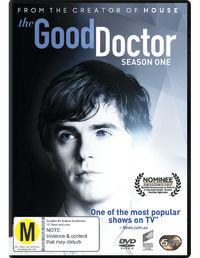 The Good Doctor: The Complete First Season on DVD