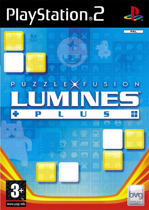 Lumines PLUS for PS2 image
