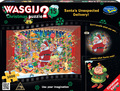 Wasgij: 1000 Piece Puzzle - Christmas #15 (Santa's Unexpected Delivery!)