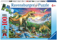 Ravensburger 100 Piece Jigsaw Puzzle - Time of the Dinosaurs