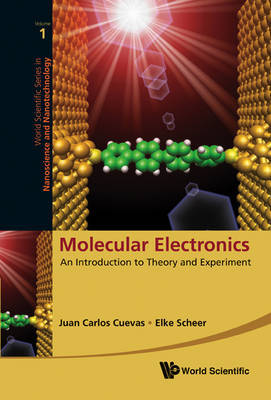 Molecular Electronics: An Introduction To Theory And Experiment by Elke Scheer image