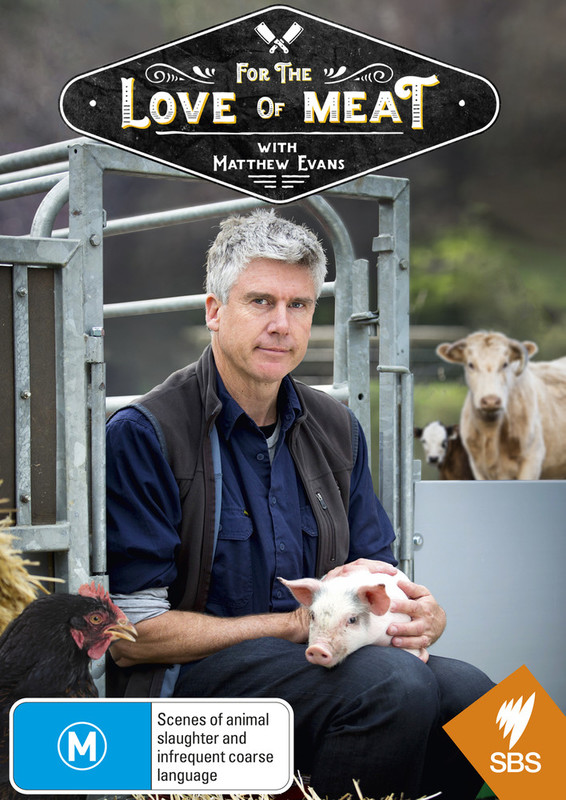 Matthew Evans: For The Love Of Meat on DVD