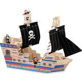 Melissa & Doug: Deluxe Pirate Ship Playset