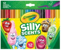 Crayola: Silly Scents Chisel Tip Markers (12-pk)