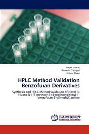 HPLC Method Validation Benzofuran Derivatives by Thorat Bapu