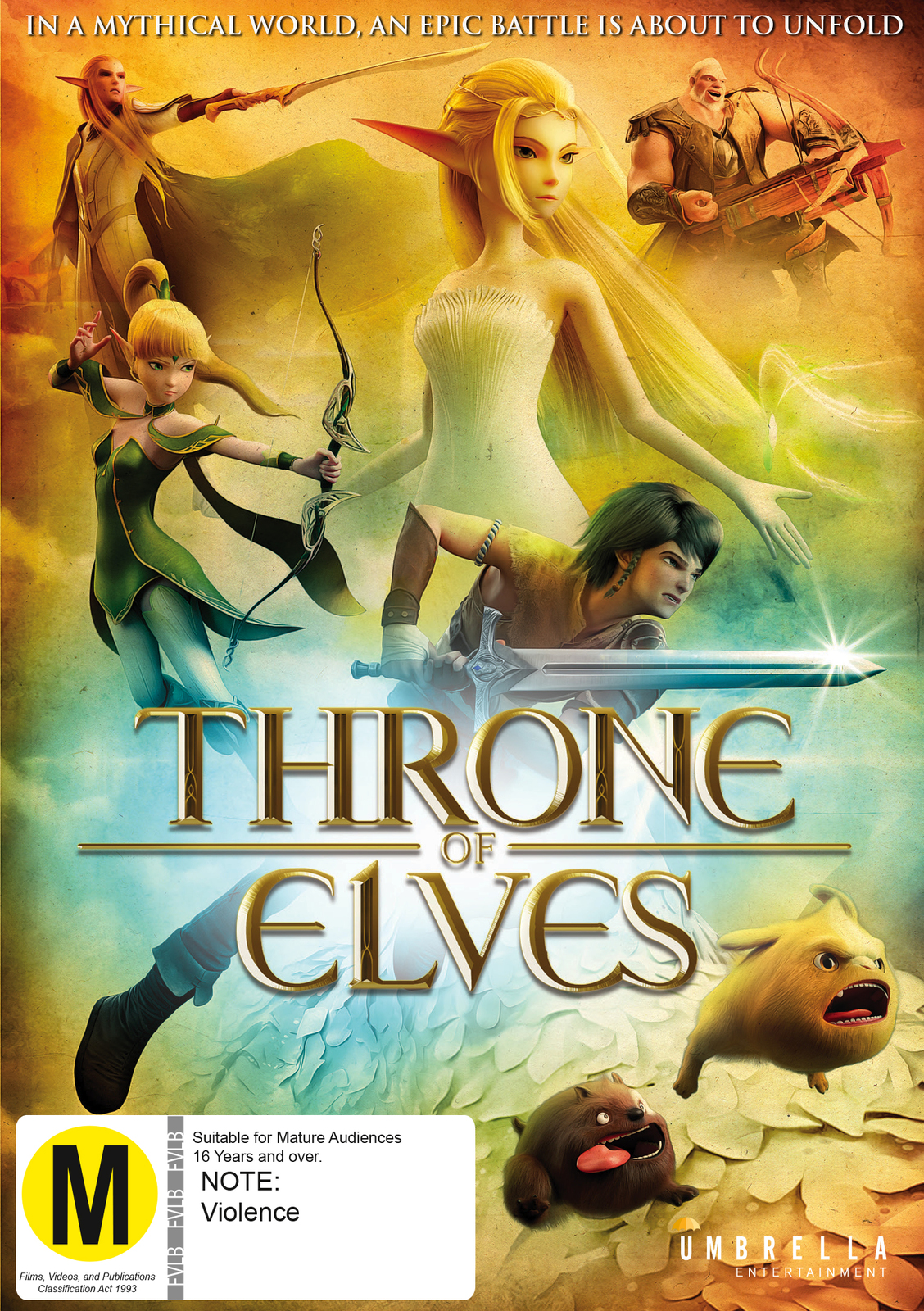 Throne of Elves on DVD image