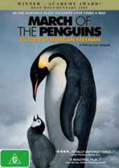 March Of The Penguins on DVD