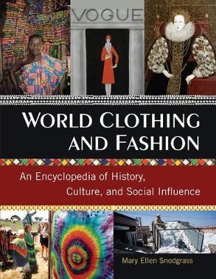 World Clothing and Fashion by Mary Ellen Snodgrass image