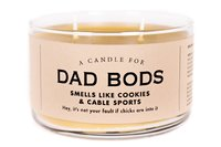 Whiskey River Co: A Candle For Dad Bods