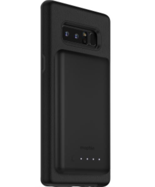 Mophie Charge Force Case and Battery Bundle - To Suit Galaxy Note 8 - Black