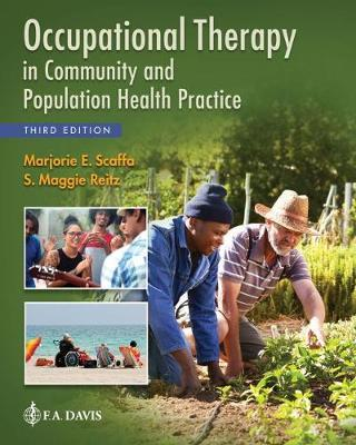 Occupational Therapy in Community and Population Health Practice by Marjorie E. Scaffa image