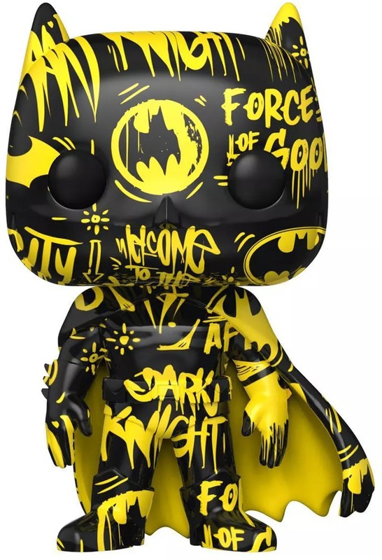 DC Comics: Batman (Black & Yellow) Pop! Vinyl Figure + Protector
